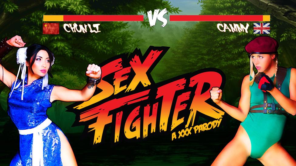 Sex Fighter: Chun Li vs. Cammy (XXX Parody)
