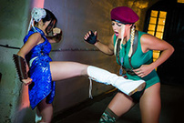 Sex Fighter: Chun Li vs. Cammy (XXX Parody)
