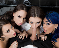 Office 4-Play: Intern Edition - Riley Reid - Janice Griffith - Aidra Fox - Lana Rhoades - 1