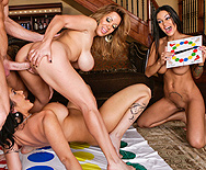 Orgy at Sienna's House - Carmella Bing - Sienna West - Angelina Valentine - 3