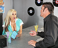 Big Tits on the Menu - Rachel Solari - 1