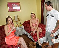 Pre-Party Fucking - Abby Rode - Darryl Hanah - 2