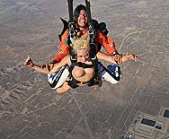Two Pussies and One Parachute - Kagney Linn Karter - Krissy Lynn - 1