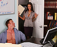 Office Tricks - Angelina Valentine - 1