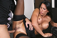 Lezley Zen in Conference Room Scuffle - Picture 2
