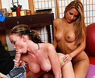 Yoga photoshoot injected with meat - Cindy Hope - Madison Scott - 2