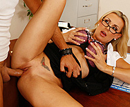 Teaching Billy's bad behavior - Tanya Tate - 3