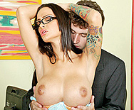A Real Office Whore - Angelina Valentine - 1