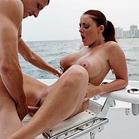 Beach, Boat and Big boobs