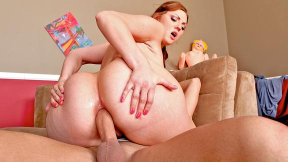 Boy Male anal rose butt