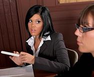 Judge Nails Delivers Sexual Discipline - Madison Parker - 1