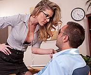 Cum In My Office Bad Boy - Kayla Paige - 1