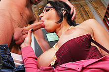 Daisy Cruz in You Fuck My Son? You Are Fired - Picture 2