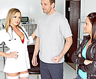 Care to Donate Some Fluid? - Bree Olson - 1
