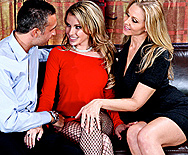 1, 2, 3, Baby Cum On Me - Courtney Cummz - Julia Ann - 1