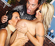 2 Hens and a Cock - Holly Halston - Lezley Zen - 1