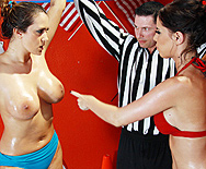 Lube-O-Mania 3000 - Trina Michaels - Brandy Aniston - 1
