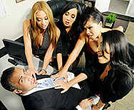 Office 4-Play II: Asian Sensation - London Keyes - Asa Akira - Mia Lelani - Katsuni - 1