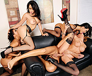 Office 4-Play II: Asian Sensation - Asa Akira - Katsuni - London Keyes - Mia Lelani - 5