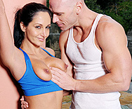 Creaming On Ava's Big Yogas - Ava Addams - 1