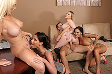 Alexis Ford, Angelina Valentine, Kagney Linn Karter, Phoenix Marie in Office 4-Play III - Picture 2