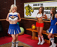 Cheering Chesticles - Alexis Ford - Courtney Cummz - 1
