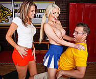 Cheering Chesticles - Courtney Cummz - Alexis Ford - 2