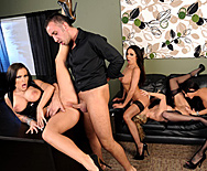 Office 4-play IV - Julia Ann - Jenna Presley - Jessica Jaymes - Kirsten Price - 3