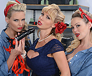 War Wives get Wet - Abbey Brooks - Nikki Benz - Phoenix Marie - 1