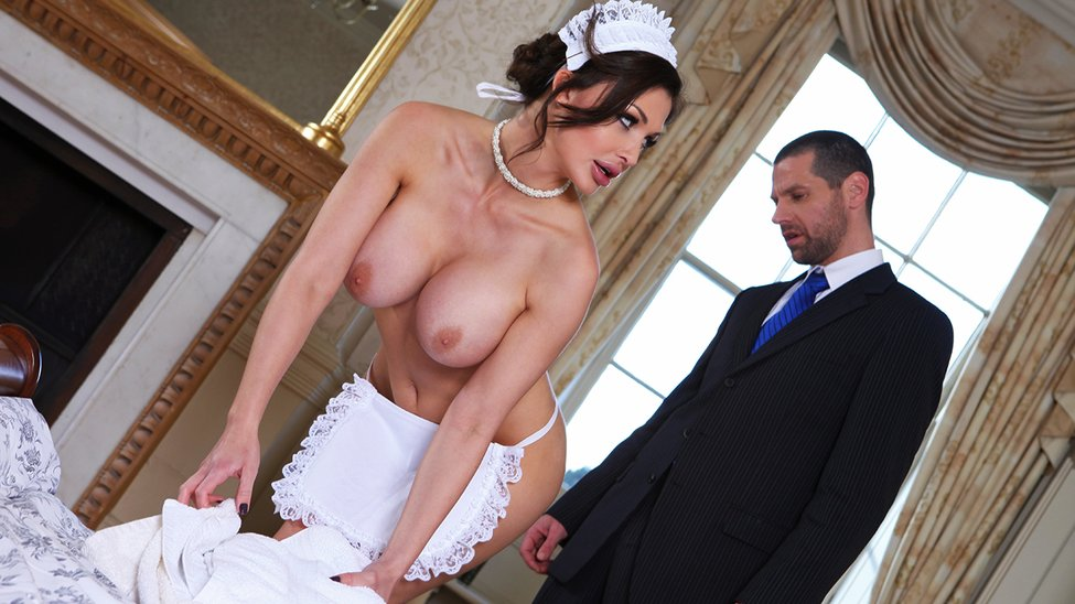 Give the Maid the Tip – Aletta Ocean & Jay Snake