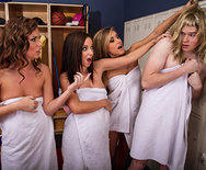 Locker Room Hijinks - Jada Stevens - Kennedy Leigh - Maddy Oreilly - 1