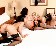 Peeping at the Keyhole - Rachel Starr - Phoenix Marie - Kendra Lust - 3
