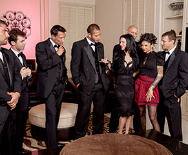 The Secret Soiree: Six-Man Gangbang - Veronica Avluv - Bonnie Rotten - 1