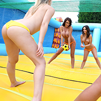 Naked Volleyball!