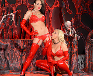 Horny Hosts of Hell - Alektra Blue - Nikki Benz - 1