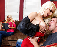 Seducing The Slutty Stepmom - Nikita Von James - Stevie Shae - 1