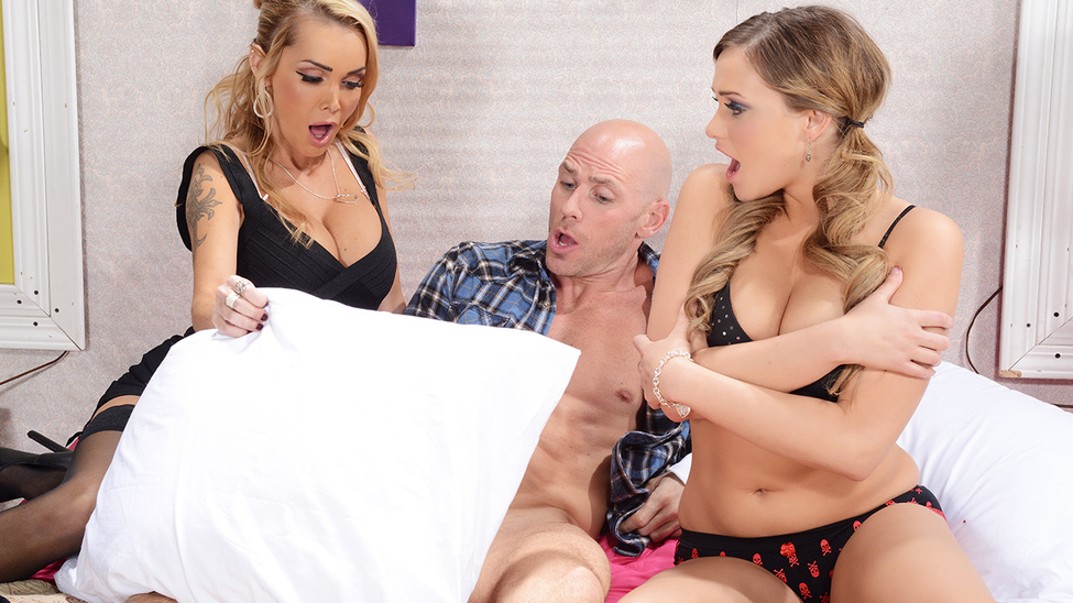 I Spy With My Little Eye One Huge Cock – Johnny Sins, Devon & Mia Malkova
