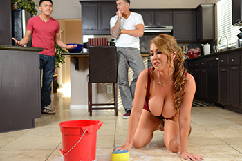 Extra Soapy Busty Asian MILF