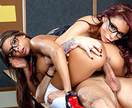 Are You Staring At Your Teacher's Tits - Madison Ivy - Monique Alexander - 5