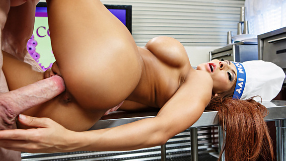 Madison Ivy Likes Her Meat