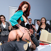 The Whore of Wall Street Ep-2: The Anal Office Queen