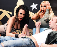 Hang Low - Alektra Blue - Nikki Benz - 1