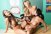Ava and the Slutty Schoolgirls