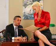 Dreamy Office Tits - Rhylee Richards - 1