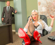 Chained to Her Desk - Gigi Allens - 1