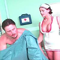 Busty nurse
