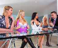 Office 4-Play VIII: UK Edition - Jasmine Jae - Leigh Darby - Rebecca Moore - Tia Layne - 1