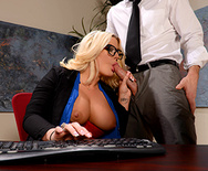 On The Cock While On The Clock - Julie Cash - 2