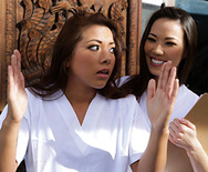 Rub N Tug Trainee - Kalina Ryu - Morgan Lee - 1