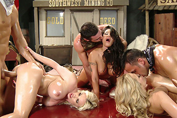 BRAZZERS LIVE 7: TEXAS ASSES